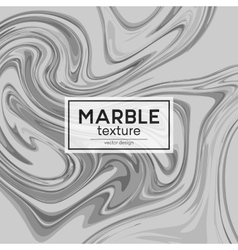 Background with gray painted waves marble vector
