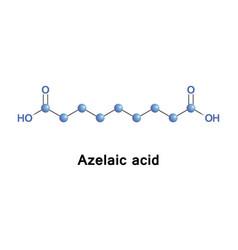 Azelaic acid molecule vector
