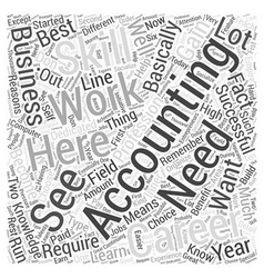 Accountancy career the reasons why you should vector
