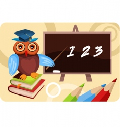 School card vector