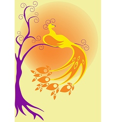 Bird fairy vector