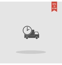 home delivery web icon design vector image