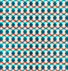 Abstract blue seamless pattern vector
