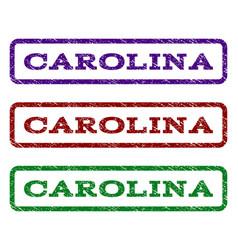 carolina watermark stamp vector image vector image