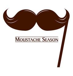 Movember graphic design vector