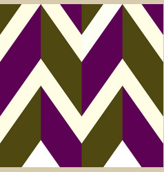 Pattern with white brown purple lines vector