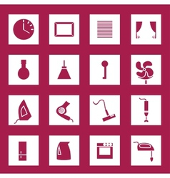 Appliances set vector