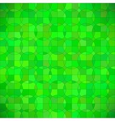 Green geometric circle background vector