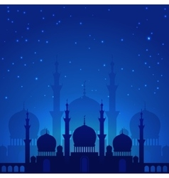 Magic arabian night vector image