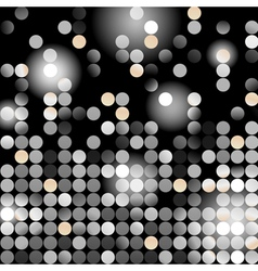 Glowing dots vector