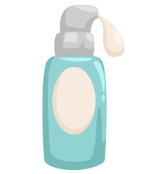 Bottle lotion vector