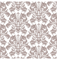 Classic luxury victorian pattern vector
