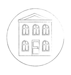 house icon image vector image