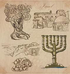israel - FINAL 11 SHSt 002 vector image vector image