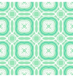 Mint green geometric art deco pattern vector