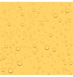 Transparent drop beer seamless background vector