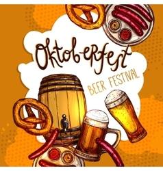 Oktoberfest festival poster vector