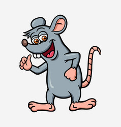 Mouse or rat cartoon character vector