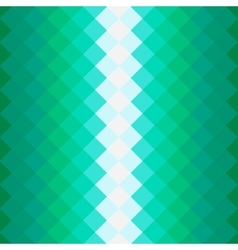 Pattern with green squares vector image vector image