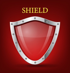 shield symbol icon vector image