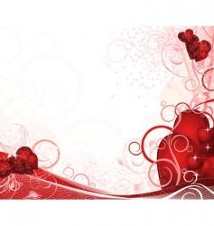 White valentines background vector