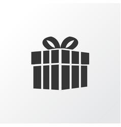 Present icon symbol premium quality isolated gift vector