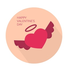 Happy valentines day collection icon vector