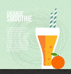 Fresh smoothie vector