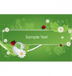 Bio template vector