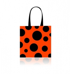 Shopping bag vector