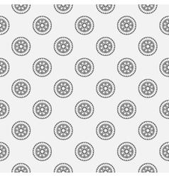 Car wheel seamless pattern vector