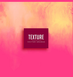 abstract pink texture background paint effect vector image vector image