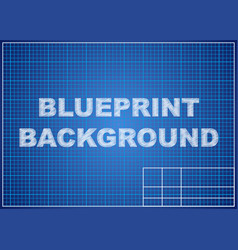 blueprint background technical design paper vector image vector image