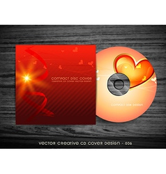 Love style cd design vector