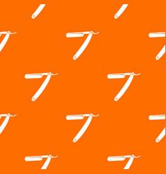 razor blade pattern seamless vector image vector image