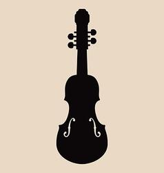 Violin design vector