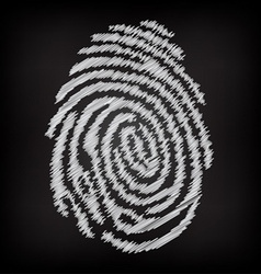 Sketchy fingerprint vector