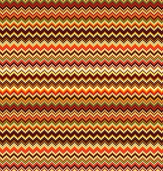 Seamless geometric pattern with zig zag stripes vector