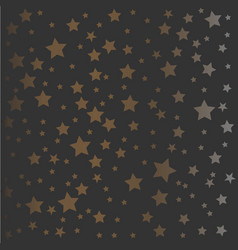golden and silver pattern vector image vector image