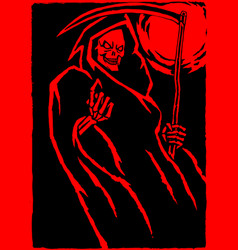 red death vector image