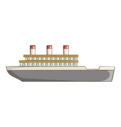 Ship icon cartoon style vector image vector image