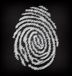 Sketchy fingerprint vector