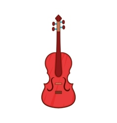 Cello icon cartoon style vector
