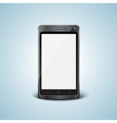 Cellphone with blank screen vector