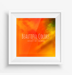 Abstract bright colors vector