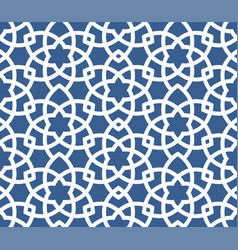 arabic ornamental background - seamless persian vector image vector image