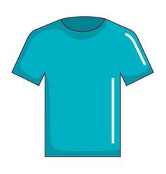 cotton casual tshirt icon vector image vector image