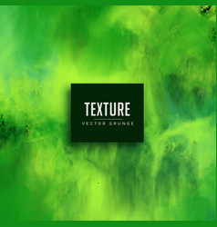 green watercolor texture effect background vector image vector image