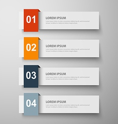 Paper infographic23 vector