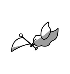 dove flag symbol image vector image
